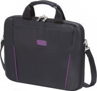Сумка для ноутбука Dicota D31000 (черно-фиолетовый) -