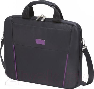 Сумка для ноутбука Dicota D31000 (черно-фиолетовый) - общий вид