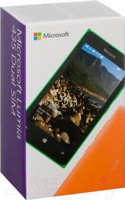 Смартфон Microsoft Lumia 435 Dual (черный)