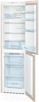 Холодильник с морозильником Bosch KGN39VK12R - внутренний вид