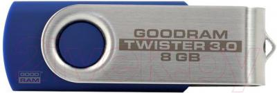 Usb flash накопитель Goodram 8Gb Twister USB 3.0 (PD8GH3GRTSBR9) - общий вид