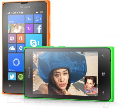 Смартфон Microsoft Lumia 435 Dual (оранжевый)