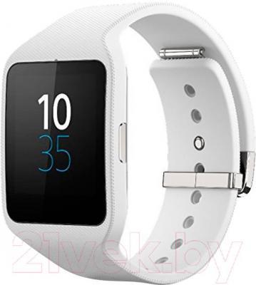 Интеллектуальные часы Sony SmartWatch 3 (белый) - общий вид