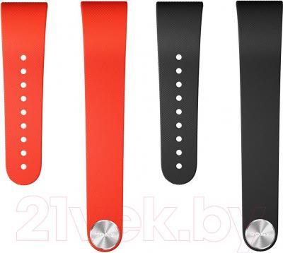 Комплект ремешков Sony SWR310BL (черный, красный) - общий вид