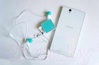 Наушники-гарнитура Sony SBH20 (аквамарин)