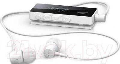 Наушники-гарнитура Sony SBH50 (белый)