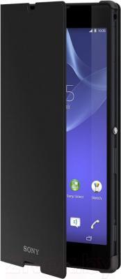 Чехол-книжка Sony SCR14B (черный) - общий вид