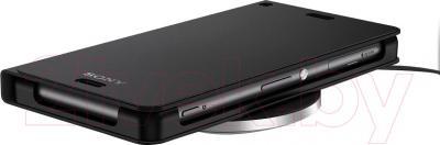 Беспроводное зарядное устройство Sony WCH10 (черный) - зарядка смартфона