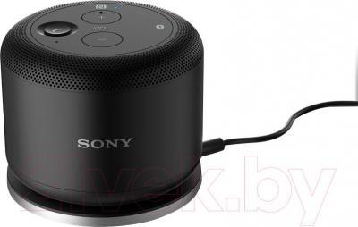 Беспроводное зарядное устройство Sony WCH10 (черный) - зарядка портативной колонки