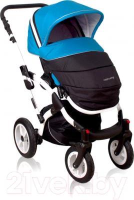 Детская универсальная коляска Coto baby Latina 2 в 1 (красный) - чехол для ног