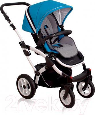 Детская универсальная коляска Coto baby Latina 2 в 1 (красный) - прогулочная
