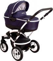 Детская универсальная коляска Coto baby Latina 2 в 1 (темно-синий) -
