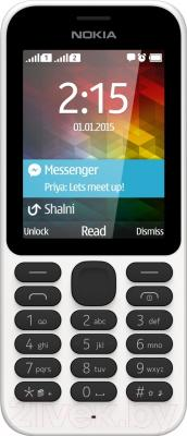 Мобильный телефон Nokia 215 Dual (белый)
