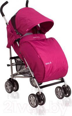 Детская прогулочная коляска Coto baby Soul Q (голубой) - чехол для ног