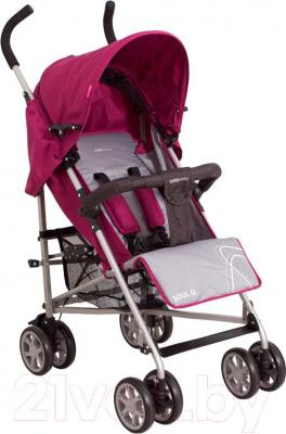 Детская прогулочная коляска Coto baby Soul Q (фиолетовый) - общий вид