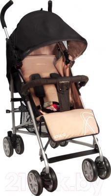 Детская прогулочная коляска Coto baby Soul Q (бежевый) - общий вид