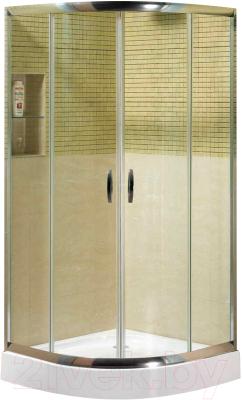 Душевой уголок Coliseum Classic КS-619А (90x90, матовое стекло)
