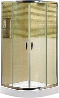 Душевой уголок Coliseum Classic КS-619А (100x100,  тонированное стекло) -