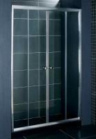 Стеклянная шторка для ванны Coliseum DS 257-150 (тонированное стекло) -
