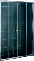 Стеклянная шторка для ванны Coliseum DS 257-170 (матовое стекло) -