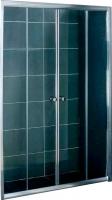 Стеклянная шторка для ванны Coliseum DS 257-180 (матовое стекло) -