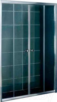 Стеклянная шторка для ванны Coliseum DS 257-180 (матовое стекло)