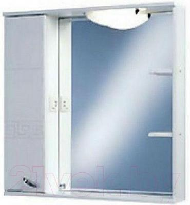 Шкаф с зеркалом для ванной Акватон Аттика 85 (1A003802AT01L)