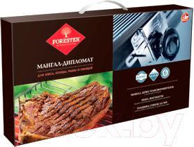 Мангал Forester BC-791 (+ решетка и 6 шампуров)