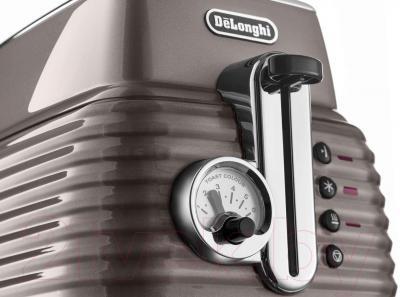 Тостер DeLonghi CTZ 2103.BG - панель управления