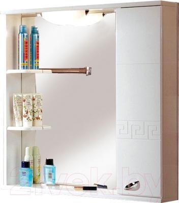 Шкаф с зеркалом для ванной Акватон Аттика 85 (1A003802AT01R)