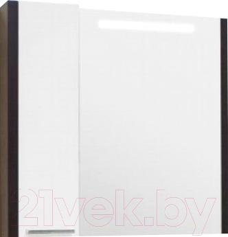 Шкаф с зеркалом для ванной Акватон Брайтон 100 (1A176702BR500)