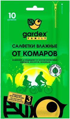 Салфетки от комаров Gardex Family 0143 (10шт)