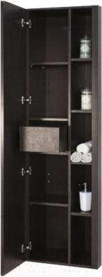Шкаф-пенал для ванной Акватон Брайтон (1A176803BR500) - с открытой дверцей