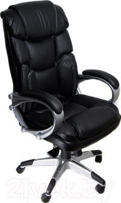 Кресло офисное Деловая обстановка Венера (черный)