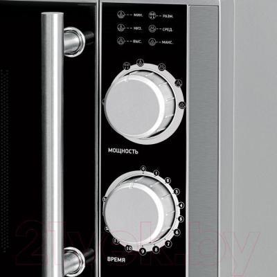 Микроволновая печь BBK 23MWS-929M/BX - элементы управления