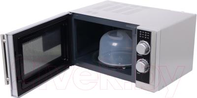 Микроволновая печь BBK 23MWS-929M/BX - с открытой дверцей