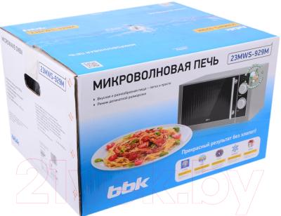 Микроволновая печь BBK 23MWS-929M/BX - коробка