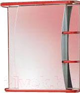 Шкаф с зеркалом для ванной Акваль Виктория 60 (ЕВ.04.60.02.L)