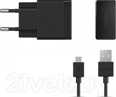 Сетевое зарядное устройство Sony EP881 (черный) - общий вид