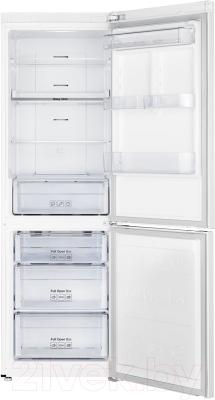 Холодильник с морозильником Samsung RB33J3200WW/WT - внутренний вид