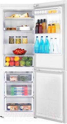 Холодильник с морозильником Samsung RB33J3200WW/WT - камеры хранения