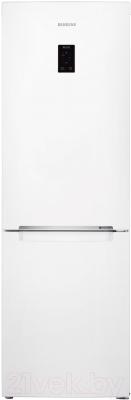 Холодильник с морозильником Samsung RB33J3200WW/WT - вид спереди