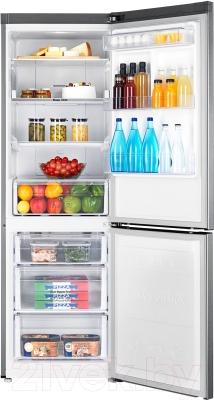 Холодильник с морозильником Samsung RB33J3220SA/WT - камеры хранения