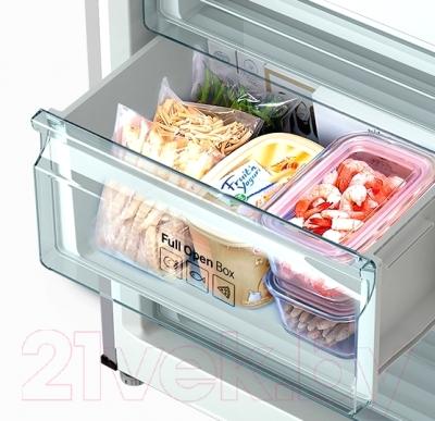 Холодильник с морозильником Samsung RB33J3220SA/WT