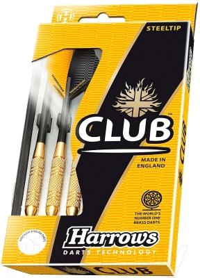 Дротики для дартса Harrows Club Brass 3х24gR / 5635