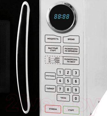 Микроволновая печь BBK 23MWS-916S/BW - элементы управления