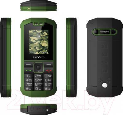 Мобильный телефон TeXet TM-509R (+ автомобильное ЗУ) - полный обзор панелей