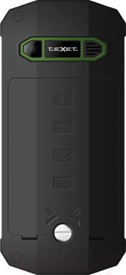 Мобильный телефон TeXet TM-509R (+ автомобильное ЗУ) - вид сзади