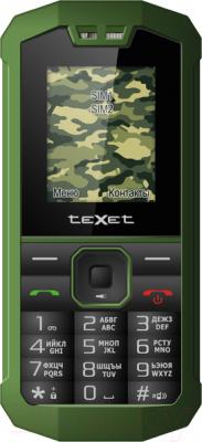 Мобильный телефон TeXet TM-509R (+ автомобильное ЗУ) - общий вид