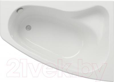 Ванна акриловая Cersanit Sicilia 140x100 (правая) - общий вид